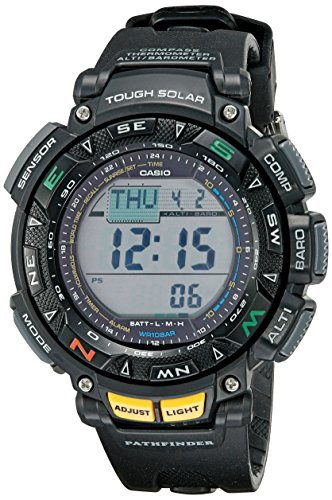 Casio Men's Pathfinder Triple Sensor Watch For Skiing