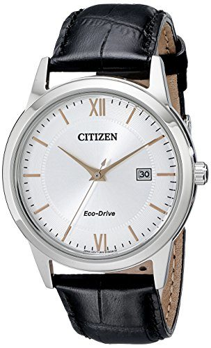 Citizen Eco-Drive Stainless Steel Solar Watch