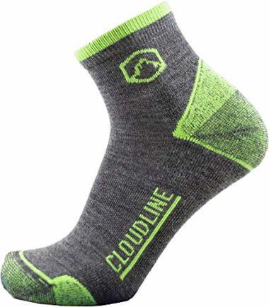 Cloudline Athletic Merino Wool Summer Hiking Socks