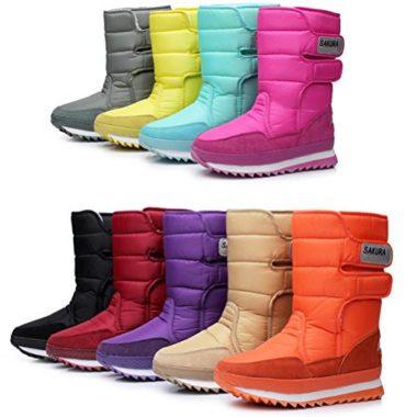 Dadawen Frosty Winter Boots For Women