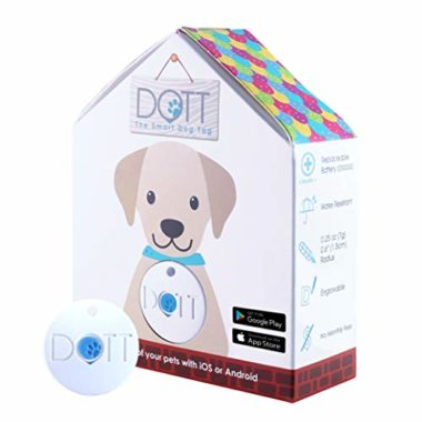 DOTT The Smart Dog Tag GPS Tracker For Dogs