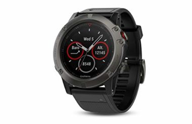 Garmin Fenix 5X Sapphire Watch For Skiing