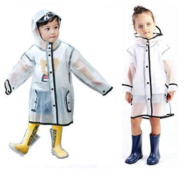 Gigabit Clear Kid's Rain Jacket