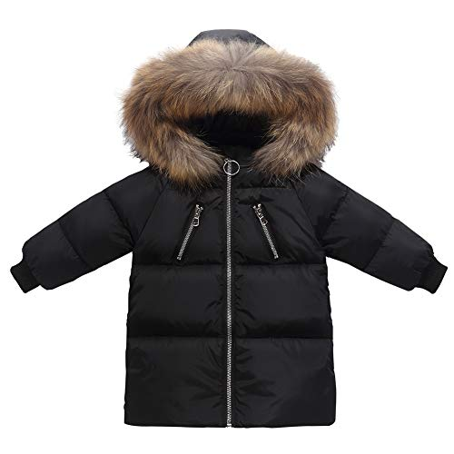 Happy Cherry Baby Girls Down Jacket For Kids