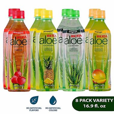 Iberia Flavored Aloe Vera Juices