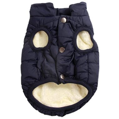 JoyDaog Fleece Lined Dog Coat