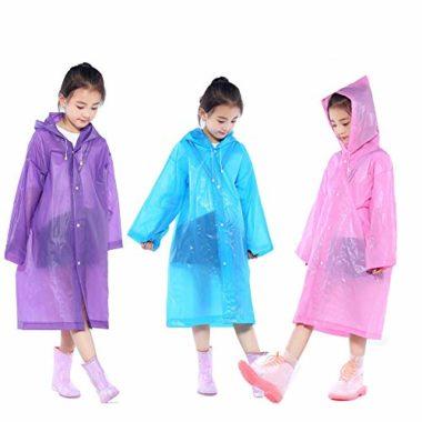 Nyicey Reusable Poncho Kid's Rain Jacket