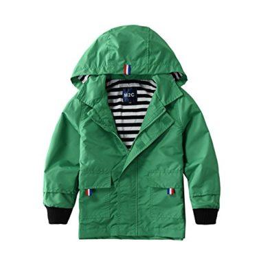 M2C Hooded Outdoor Kid's Rain Jacket