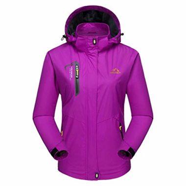 MAGCOMSEN Waterproof Lightweight Softshell Jacket For Women