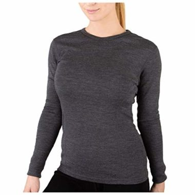 Meriwool Midweight Long Sleeve Base Layer For Women