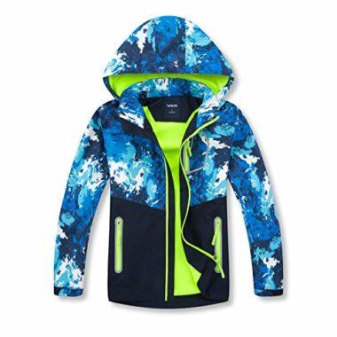 ChooTeeYeen Kid's Rain Jacket