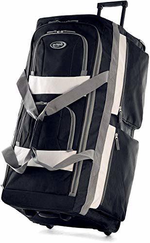 Olympia 8 Pocket Wheeled Duffel Bag