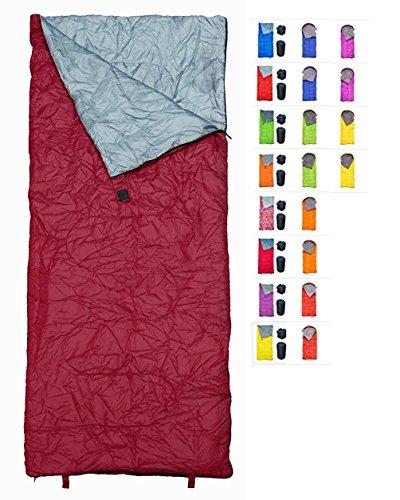 REVALCAMP Indoor & Outdoor Rectangular Sleeping Bag