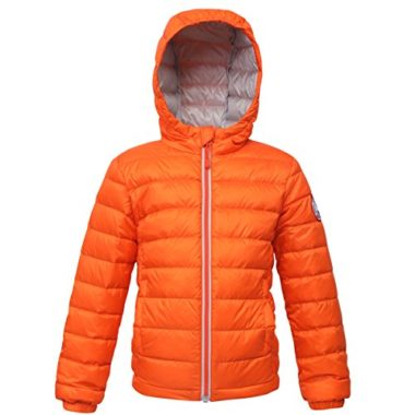 Rokka&Rolla Boys' Ultra Lightweight Down Jacket For Kids