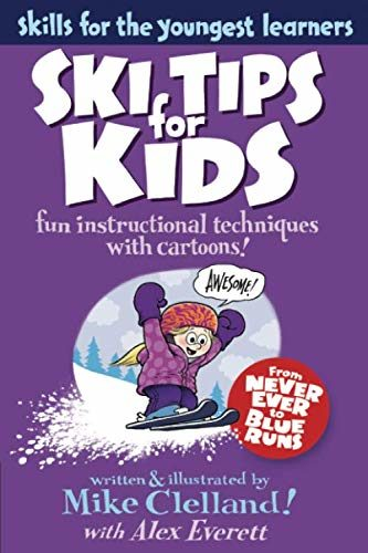 Ski Tips for Kids Skiing Book