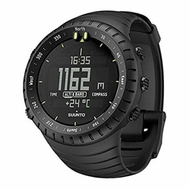 Suunto Core All Black Military Men's Watch For Skiing