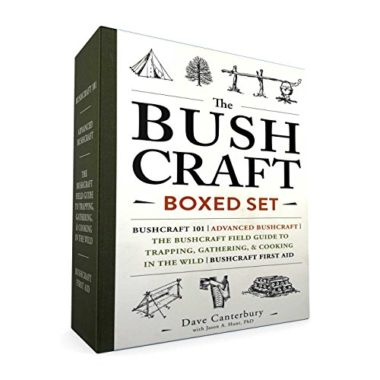 The Bushcraft Boxed Set Hiking Book