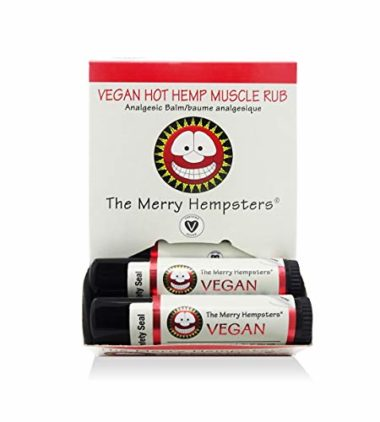 Merry Hempster Hot Hemp Muscle Rub