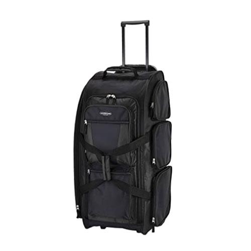 Travelers Club Xpedition Wheeled Duffel Bag