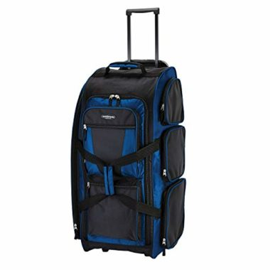Travelers Club Xpedition Wheeled Duffel Bag