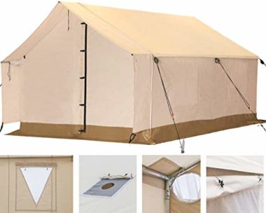 White Duck Outdoors Complete Canvas Tent