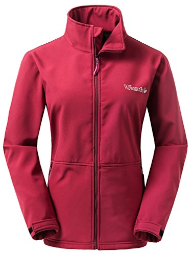 Wantdo Windproof Insulated Softshell Jacket For Women