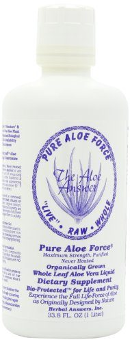 Herbal Answers Whole Raw Aloe Vera Juice