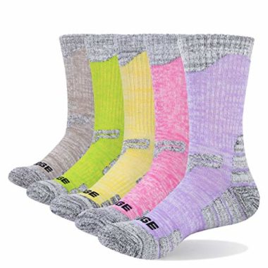YUEDGE Women's Athletic Summer Hiking Socks
