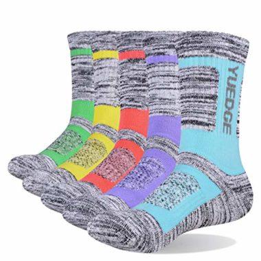 YUEDGE Women's Multi Performance Summer Hiking Socks