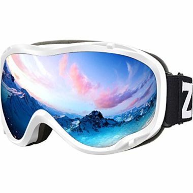ZIONOR Lagopus UV Protection Anti Fog Ski Goggles