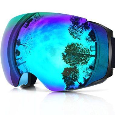ZIONOR X4 Dual Layer Magnet Lens Ski Goggles