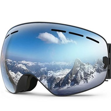 ZIONOR X Detachable Lens OTG Ski Goggles