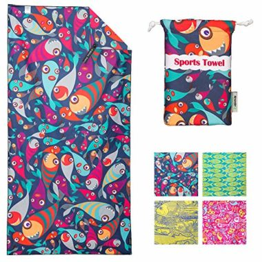 4Monster Microfiber Beach Towel