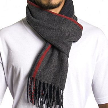 Alpine Swiss Men's Scarf