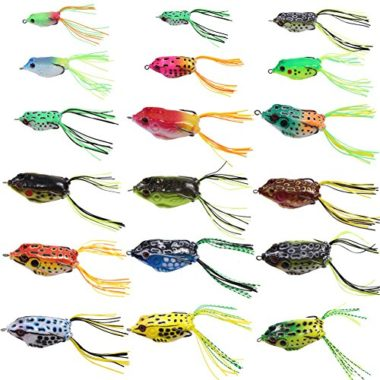Croch Hollow Body Frog Lures