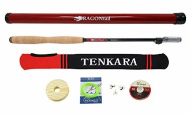 DRAGONtail Shadowfire Tenkara Fishing Rod