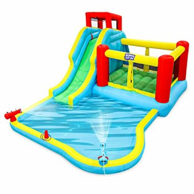 Sunny & Fun Deluxe Inflatable Water Slide