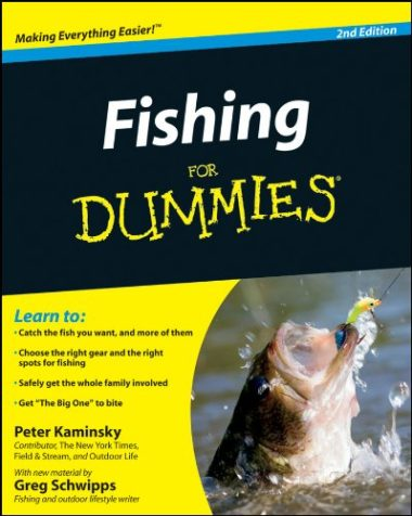 Fishing For Dummies Fishing Book