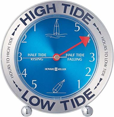 Howard Miller Tide Mate III Table Clock