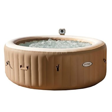 Intex PureSpa Portable Bubble 4 Person Hot Tub