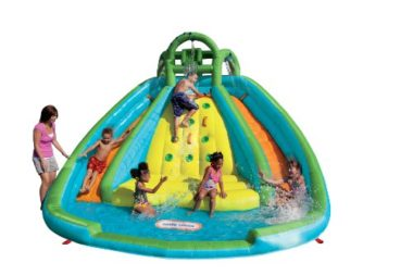 Little Tikes Rocky Mountains River Race Inflatable Water Slide