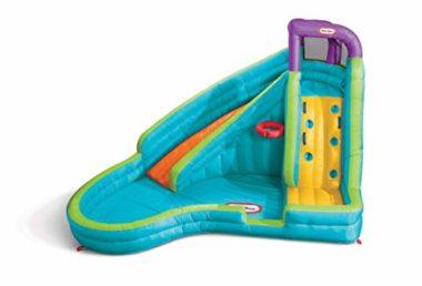 Little Tikes Slam'n Curve Inflatable Water Slide