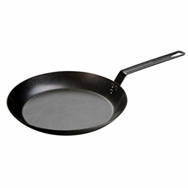 Lodge Carbon Steel Frying Pan for Fish
