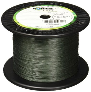 PowerPro Spectra Fiber Braided Baitcaster Fishing Line