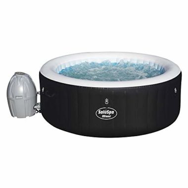 SaluSpa Miami AirJet Inflatable 4 Person Hot Tub