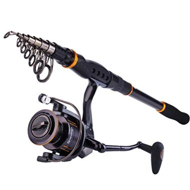 Sougayilang Collapsible Travel Fishing Rod