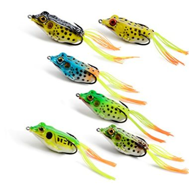 Supertrip Topwater Frog Lures