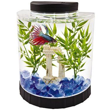Tetra LED Half Moon Betta Fish Tank