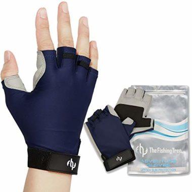 The Fishing Tree Fingerless Kayaking Gloves