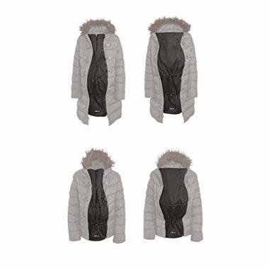 Zip Us In Expander Panel Maternity Winter Coat
